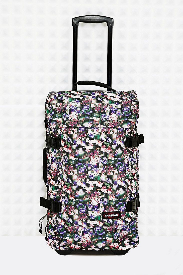 Eastpak Tranverz M Suitcase in Floral Print - Urban Outfitters