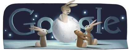 Google Doodle: Mid-Autumn Festival China 2012