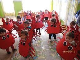 disfraz de cangrejo para niño