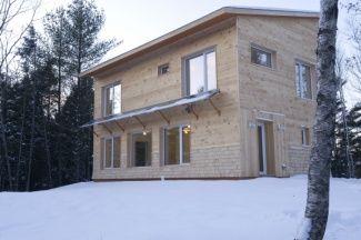 Passive House in Knox Maine #passivhaus