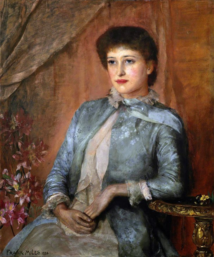 George Frank Miles: Lillie Langtry (1884) [the famous actress]