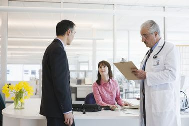 A medical receptionist cover letter should accompany a resume when a person is seeking the job of medical receptionist for a large corporation or a government position.