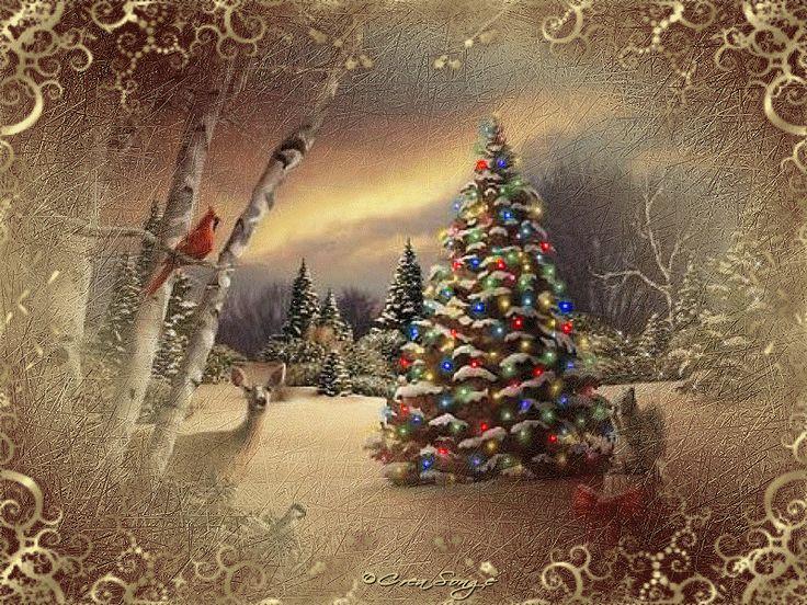 CHRISTMAS+CARD+18+Paysage+de+noel.gif (800×600)