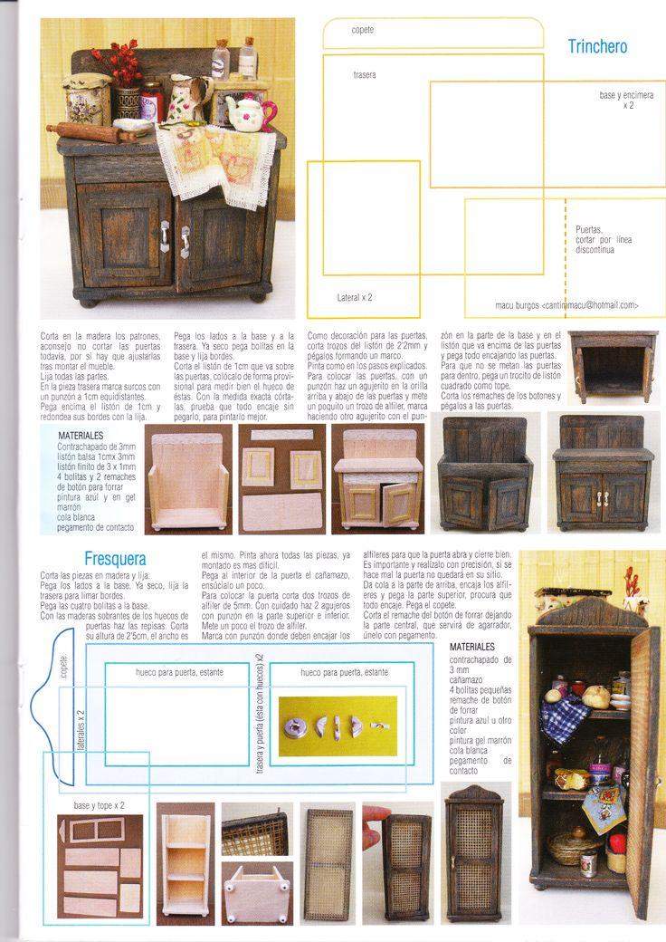 tutoriales para realizar muebles de cocina