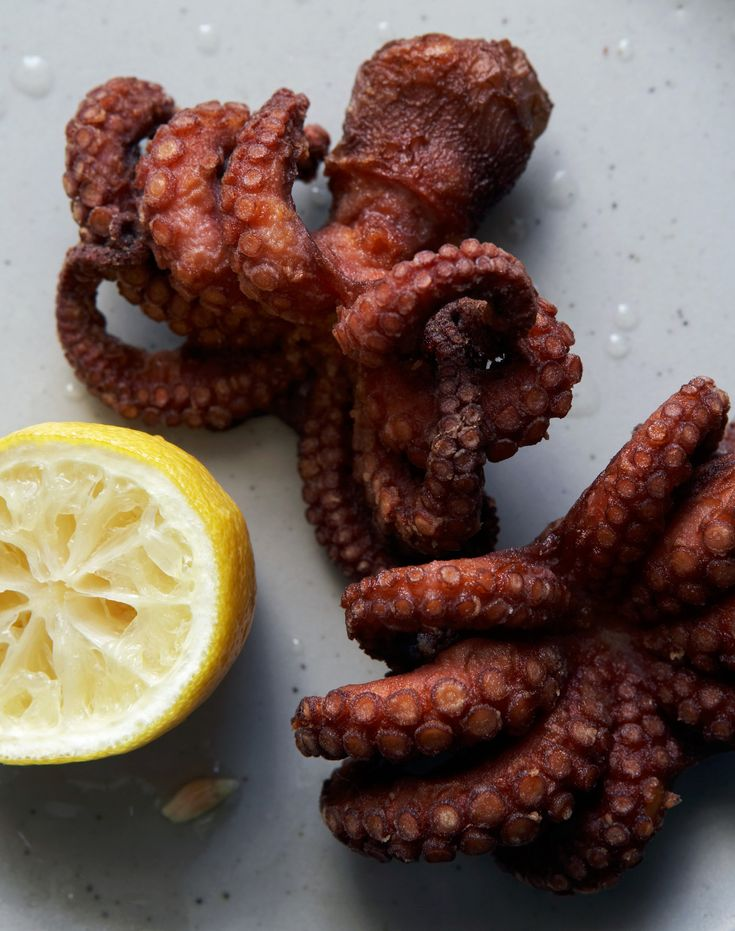how to cook squid and octopus