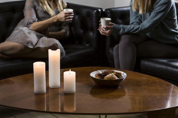 Coffee, candles and a hyggelig snakke (cosy chat) is a daily Scandinavian ritual.