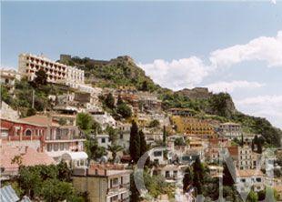 Taormina in der Provinz von Messina auf Sizilien - Sicilia - Sicily http://www.italien-inseln.de/messina/taormina.html