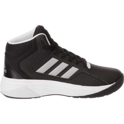 Adidas Kids' Neo Cloudfoam Ilation Basketball Shoes (Core Black/Matte Silver/Footwear White, Size 13.5) - Youth Basketball Shoes at Academy Sports