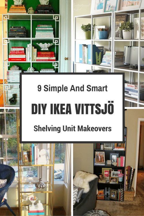 IKEA VITTSJÖ Shelving Unit Is Made From Tempered Glass And Metal, Which Are  Durable Materials That Provide An Open, Airy Feel.