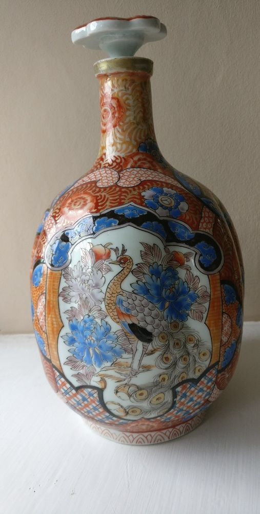 A good late 19th century Japanese wine jug or flagon. This is a rare superb quality piece from the Japanese Meiji period with ran from 1868-1912 and dates to the late 19th century circa 1890-1900. This is one of the nicest and most unusual pieces of Japanese ceramics I have seen from this period and would make a fine addition to any collection or as a usable piece or for display. | eBay!