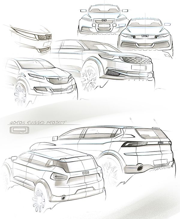 QOROS SUV PROJECT by David Khachatryan