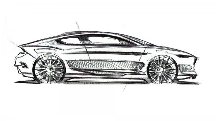 Ford Evos Concept Design Sketch