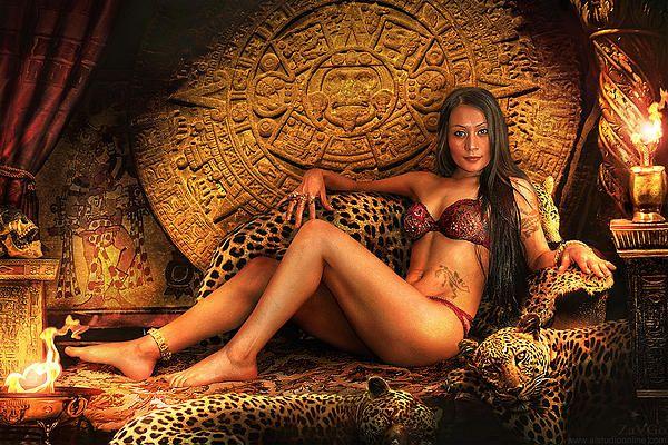 Montezuma's Daughter by Andrey Zavgorodniy: