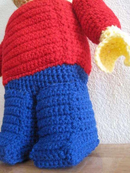 Lego Minifigure crochet pattern - must make!!