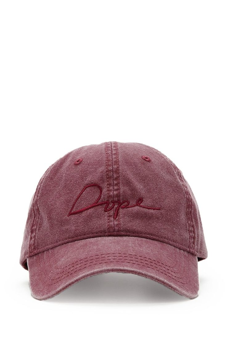 A Baseball Cap By Dope™ Featuring A Vintage Wash, A Tonal Embroidered