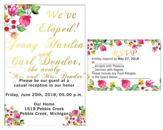 Hey, I found this really awesome Etsy listing at https://www.etsy.com/listing/505678304/elopement-party-invitation-and-rsvp