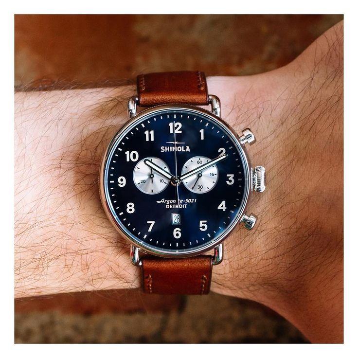 @Shinola just released their latest watch design, The Canfield, for men. #Detroit #MyShinola #mccaskillandcompany