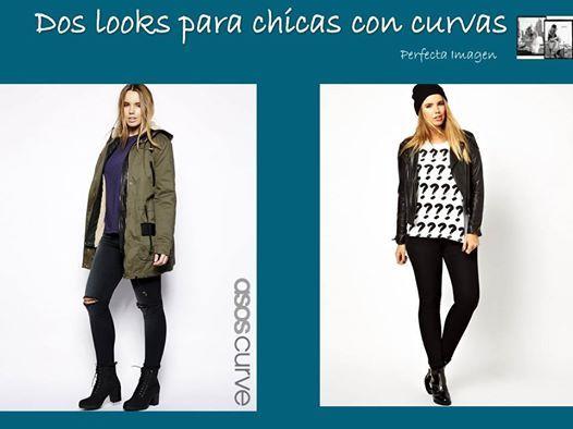 Perfecta Imagen: Dos looks para chicas con curvas.¿Cual eliges?