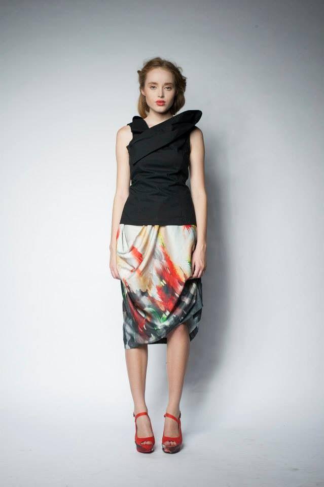 Robin top and Lark skirt