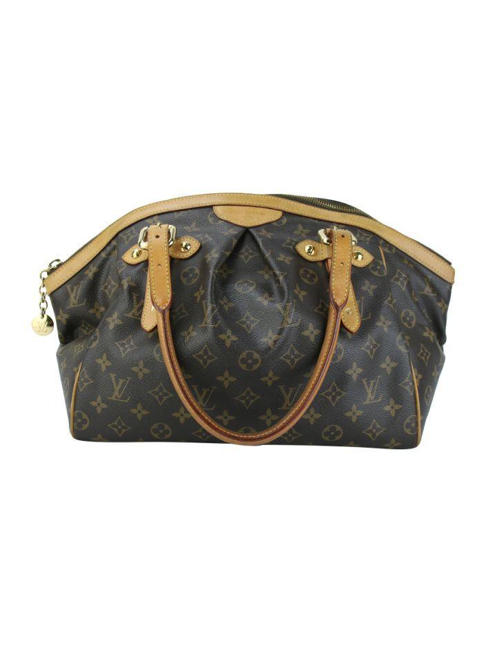 b76446cb47 Bolsa Louis Vuitton Tivoli Monograma Original confeccionada em canvas  monograma e detalhes em couro caramelo. O modelo possui alça dupla de ombro  regulável, ...