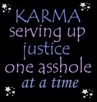 Karma justice