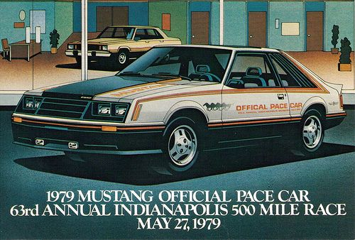 1979 Ford Mustang Indy Pace Car