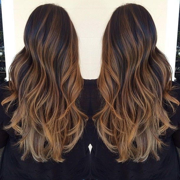 Ombré and highlights