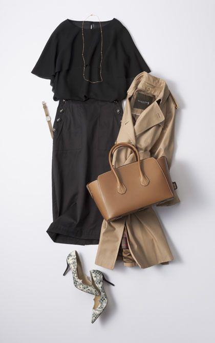 大人の女性のあるあるシーン別のコーディネート集です。下記の6つのテーマごとにスタイリングを掲載しています。■1:グレーとベージュを重ねる「初夏のニュアンス配色コーデ」3選/■2:1着の「ベージュジャケット」を着回し3パターン/■3:キャリア女性の春の通勤コーディネート3パターン/■4:キャリア女性の卒業式・入学式・PTAコーディネート3パターン/■5:休日の「配色使い」コーディネート4選/■6:白Tシャツの丸首スタイル、Vネックスタイル