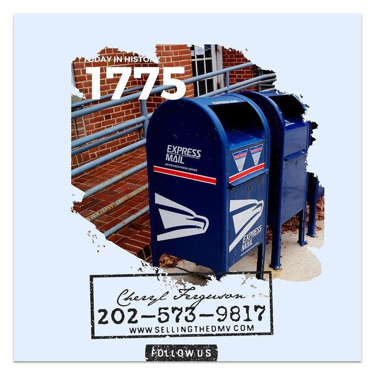 On this day in 1775 the U.S. postal system is established by the Second Continental Congress with Benjamin Franklin as its first postmaster general. Franklin (1706-1790) put in place the foundation for many aspects of todays mail system.  source:history.com