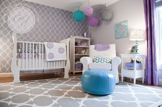 Cathy Green Interiors | Girl�s Nursery ~ Client Reveal | http://www.cathygreeninteriors.com