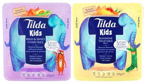 Tilda выпустила линейку гарниров для детского питания