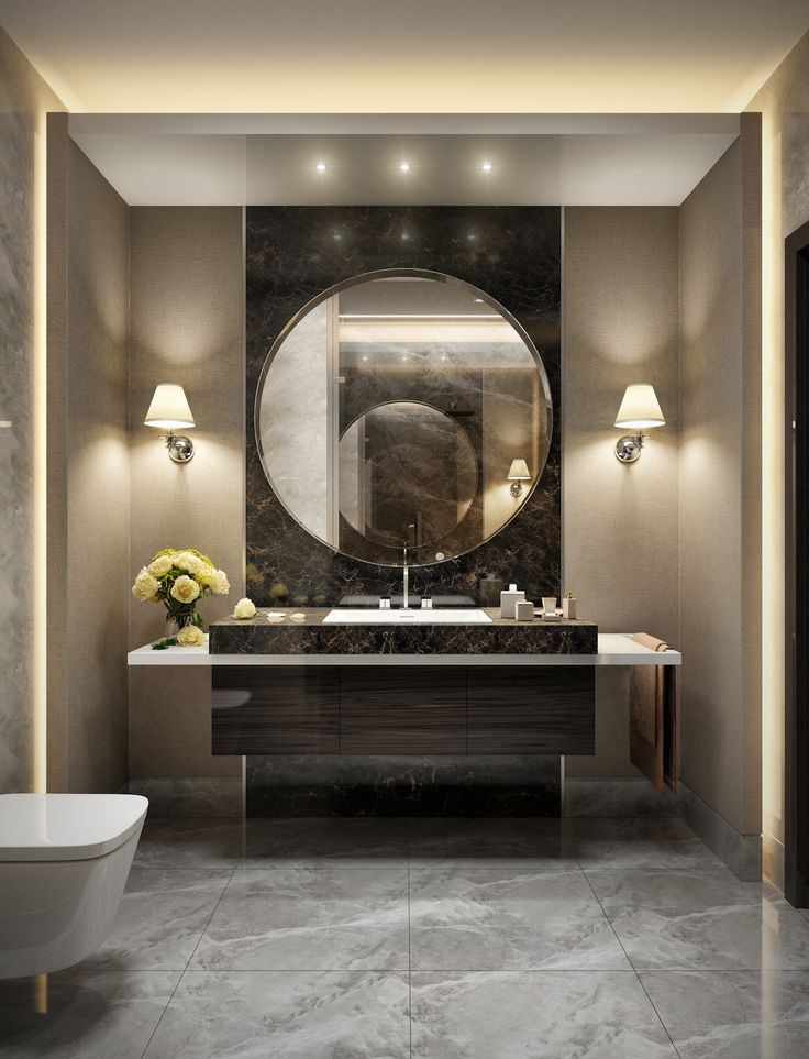 interiors of pruva 34 residential complex in istanbul turkey 2015agency - Designing Bathroom