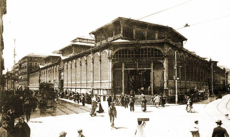 Mercado de La Cebada, durante su desmontaje en 1956. Siguiendo con la saga de mercados de Madrid, integrada en las arquitecturas perdidas. Lo que a continuación aporto, a modo de testimonio gráfico…