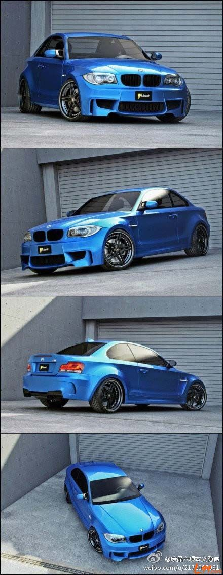 BMW 1M couper by Bimmers