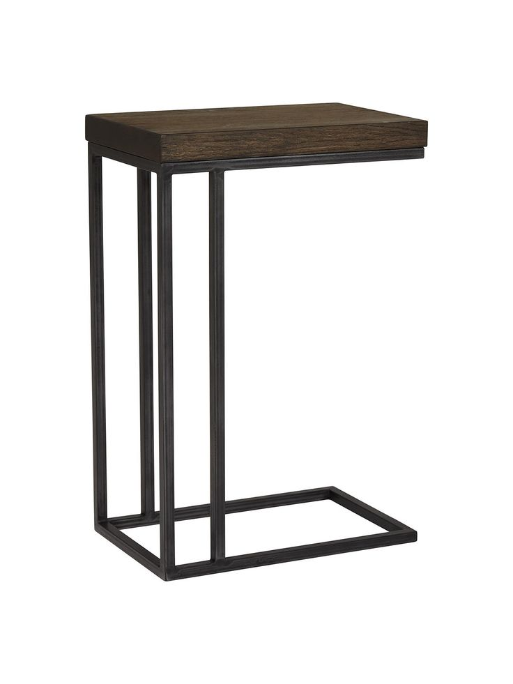 Slim Bedside Tables: John Lewis & Partners Calia Sofa Side Table, Dark