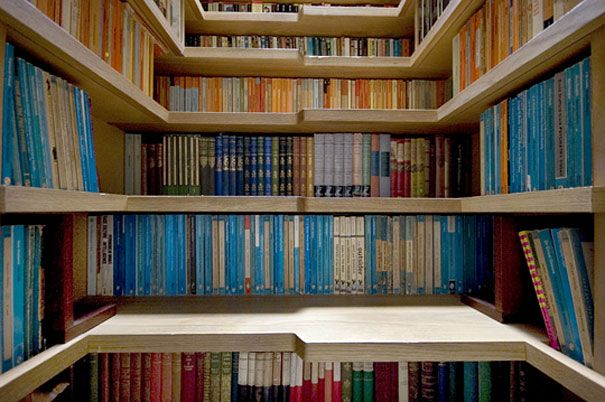Bookcase/Staircase, and 33  other Amazing Ideas That Will Make Your House Awesome | Bored Panda