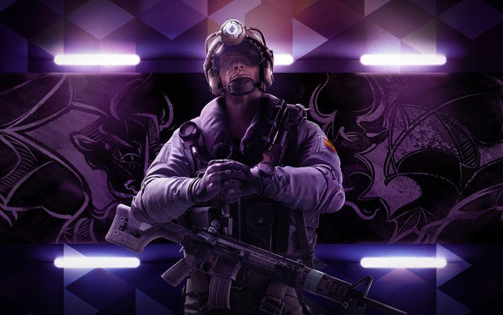 Download Wallpapers Tom Clancys Rainbow Six Siege 4k Operation