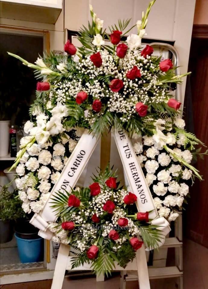 Coronas De Flores Para Funerales Dos Cabezales ритуальные