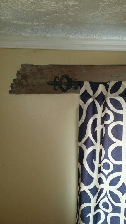 Best 25 Rustic Curtain Rods Ideas On Pinterest Rustic