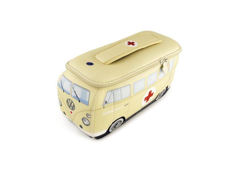 Volkswagen Bus Neoprene Universal Bag - Large Ambulance