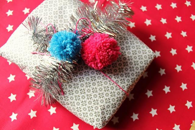 Sjov juleindpakning