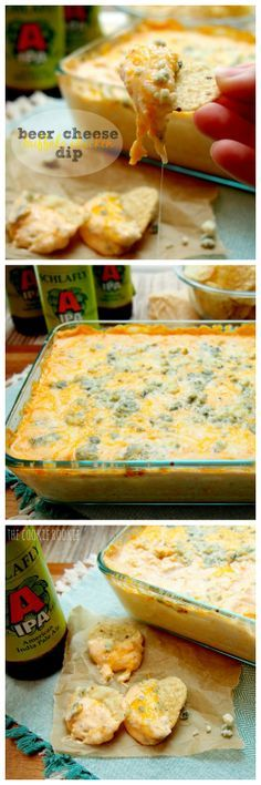 Beer Cheese Buffalo Chicken Dip - my favorite!! {The Cookie Rookie}