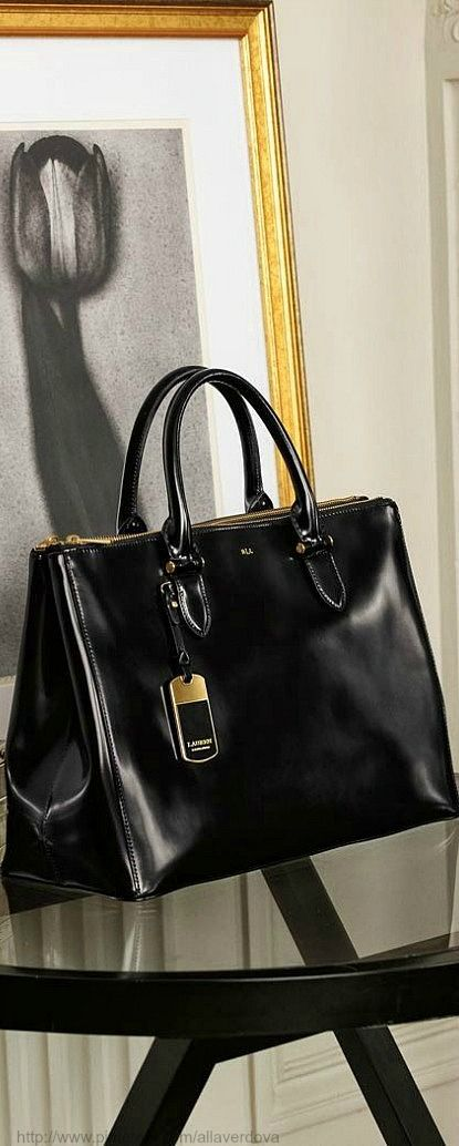 So this leather Ralph Lauren bag is on sale and still out of my price range, but I want it SO badly. Like SOSOSO much. In person the leather is soft as silk.