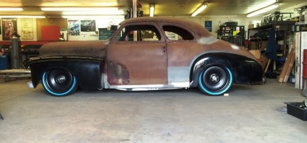1947 Chevrolet Coupe Featuring Progressive Automotive Chassis Chevy Street Rods Chassis Fabrication