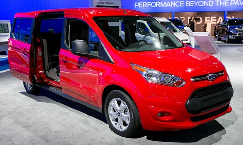 2014 Ford Transit Connect Wagon (2012 L.A. Auto Show Coverage)