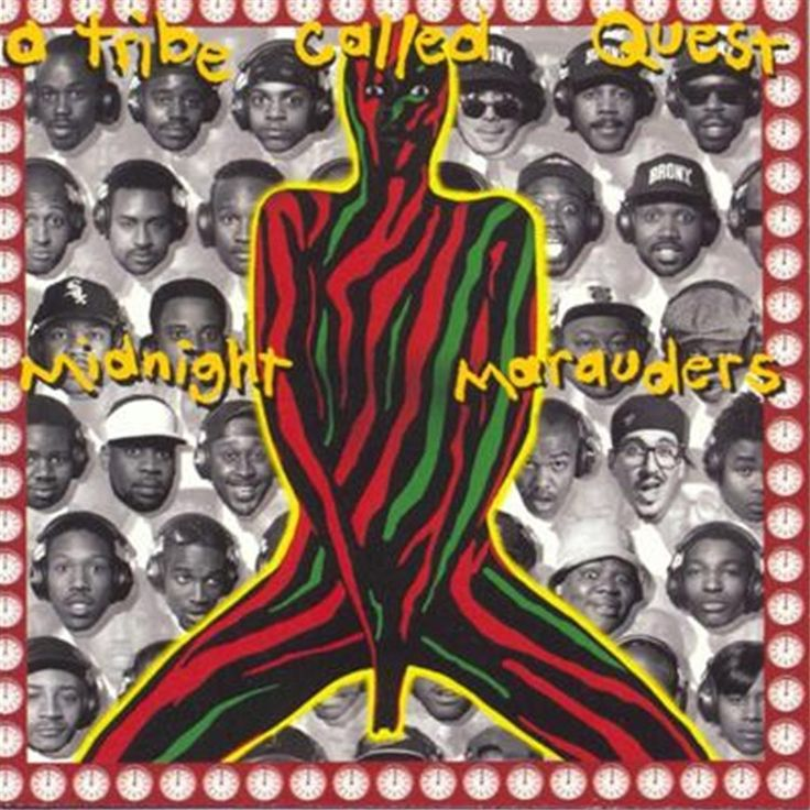 A Tribe Called Quest Midnight Marauders on LP Q-Tip and company come into their own on this 1993 hip-hop marvel, which finds A Tribe Called Quest at its peak. Often cited by many sources and experts a