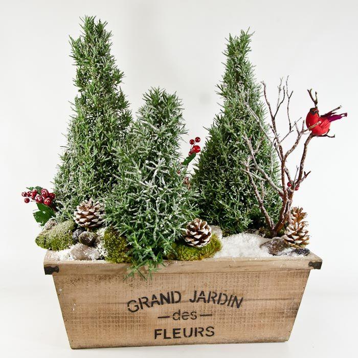 christmas floral arrangements - Google Search