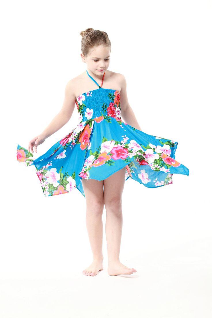 80 best Hawaii Hangover Girl Floral Beach Luau Summer Dress images ...