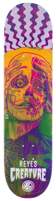 Creature Reyes Anatomy 8.0 P2 Skateboard Deck