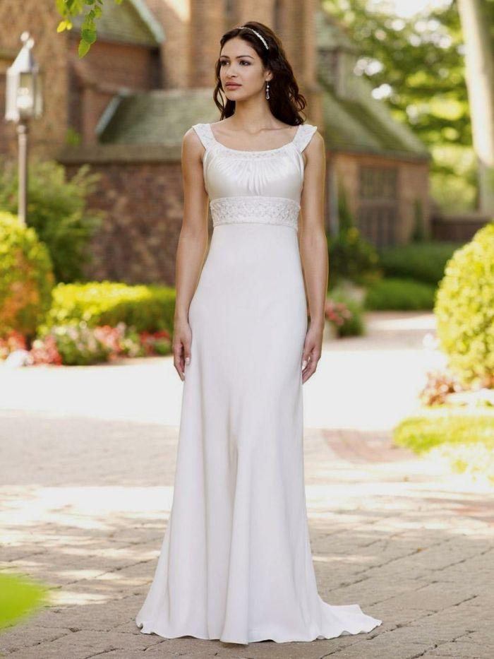 Vestidos bonitos de boda sencillos